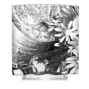 Country Summer - Bw 05 Shower Curtain