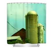 Country Summer Shower Curtain