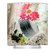 Country Summer - Photopower 1501 Shower Curtain