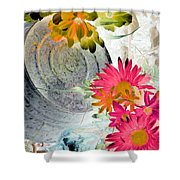 Country Summer - Photopower 1512 Shower Curtain