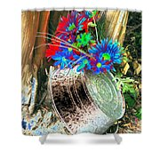 Country Summer - Photopower 1515 Shower Curtain