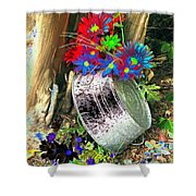Country Summer - Photopower 1517 Shower Curtain