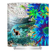 Country Summer - Photopower 1520 Shower Curtain