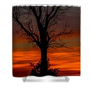 Country Sunsets Shower Curtain