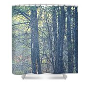 Country Woodlands Shower Curtain