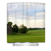 Countryside Charm Shower Curtain