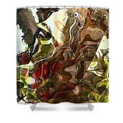 Countryside Creatures Shower Curtain