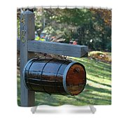 Countryside Mailbox #10 Shower Curtain