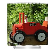 Countryside Mailbox #12 Shower Curtain