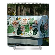 Countryside Mailbox #14 Shower Curtain