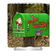 Countryside Mailbox #15 Shower Curtain