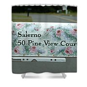 Countryside Mailbox #22 Shower Curtain