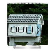 Countryside Mailbox #23 Shower Curtain