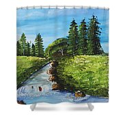 Countryside Shower Curtain