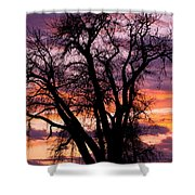 County Sunset Shower Curtain