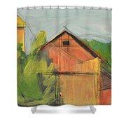 County Tt Shower Curtain