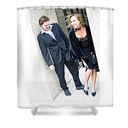 Couple 25 Shower Curtain