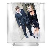 Couple 25 Shower Curtain