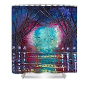 Courage To Dream Shower Curtain