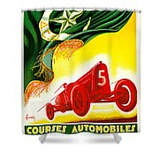 Courses Automobiles D Oran Shower Curtain