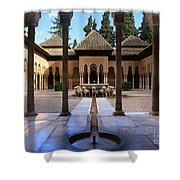 Court Of The Lions Shower Curtain