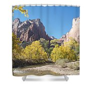 Court Of The Patriarchs Shower Curtain