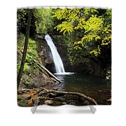 Courthouse Falls In North Carolina Shower Curtain