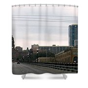Courthouse Fort Worth Texas Shower Curtain