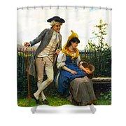 Courtship Shower Curtain