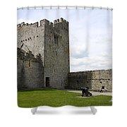 Courtyard Cahir Castle Shower Curtain
