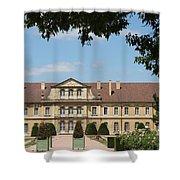 Courtyard Cloister Cluny Shower Curtain