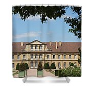 Courtyard Cloister Cluny Shower Curtain