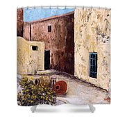 Courtyard  Shower Curtain