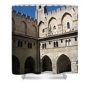 Courtyard - Palace Avignon Shower Curtain