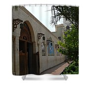 Courtyard To The Coptic Church Shower Curtain