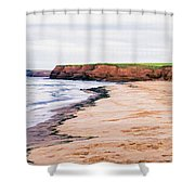 Cousins Shore Prince Edward Island Shower Curtain by Edward Fielding