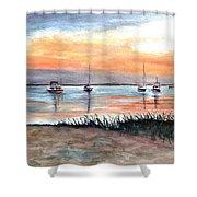 Cove Sunrise Shower Curtain
