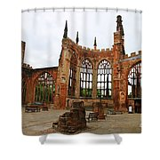 Coventry Cathedral 6003 Shower Curtain