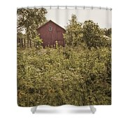 Covered Barn Shower Curtain