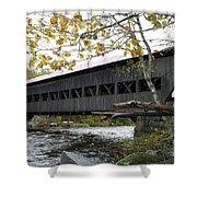 Covered Bridge Albany Shower Curtain