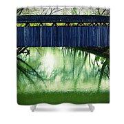 Covered Bridge In Kentucky Shower Curtain