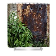 Covered In Rust Shower Curtain