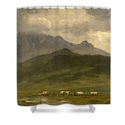 Covered Wagons Shower Curtain