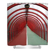 Covered Walkway 01 Shower Curtain