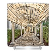 Covered Walkway Shower Curtain