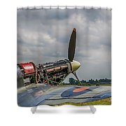 Covers Off Hawker Hurricane Shower Curtain