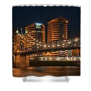 Covington By Night Shower Curtain
