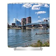 Covington Kentucky Shower Curtain