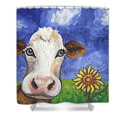 Cow Fantasy One Shower Curtain