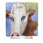 Cow Fantasy Three Shower Curtain